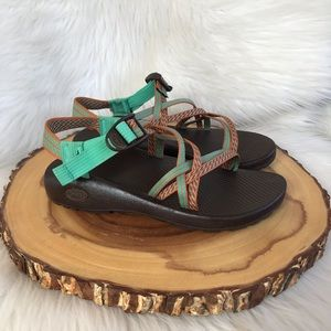 Chaco strappy waterproof sandals